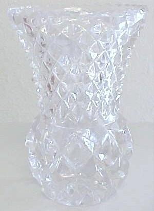 LEAD GLASS CRYSTAL VASE