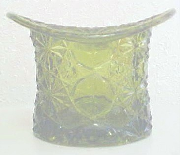GREEN GLASS HAT