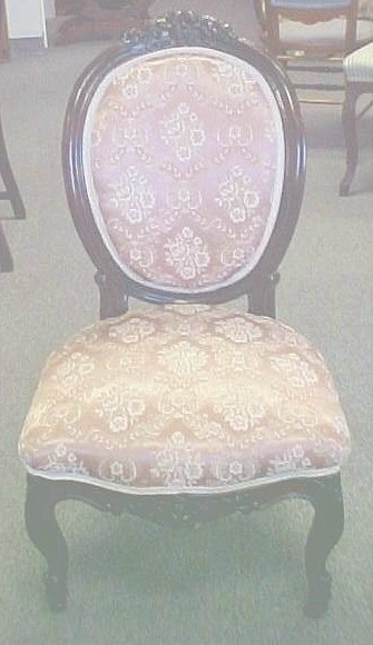 LOUIS XV STYLE  VICTORIAN CHAIR