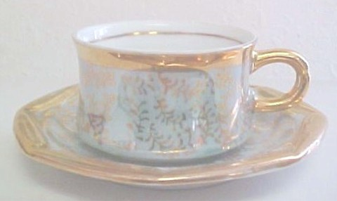 ROYAL CROWN CUP AND SAUCER