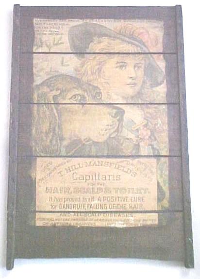 1910 ADVERTISEMENT SIGN